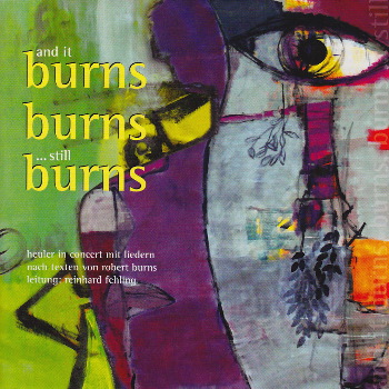 Cover der CD CD Burns, Burns, Burns (Illustration: Luise Lunemann)