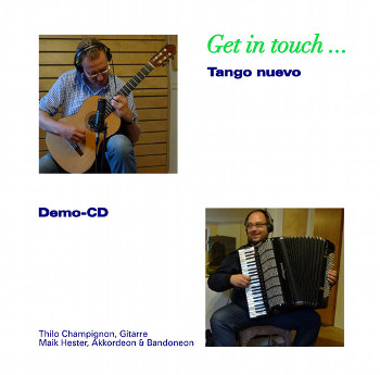 Cover der Get in touch ... Demo-CD (Bild: Dr. Maik Hester)